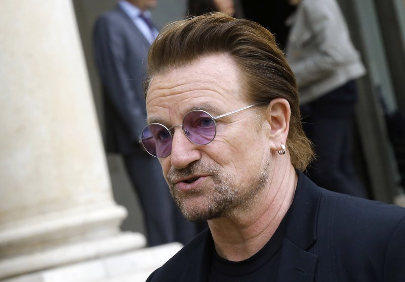 Bono warns that existence of UN, EU and NATO are threatened