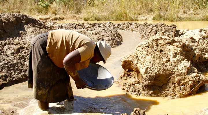 Artisanal miners gold production output up 65 percent