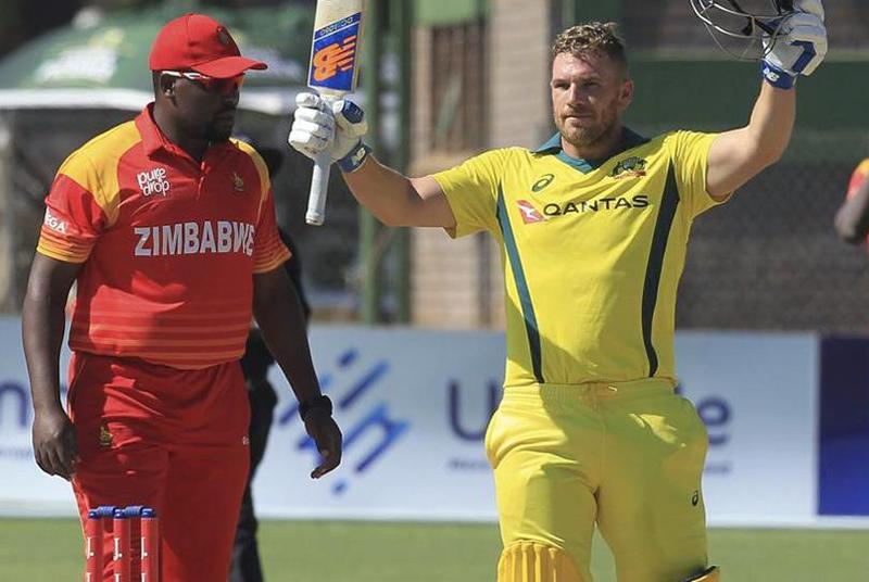 Record-breaking Finch destroys hapless Zimbabwe