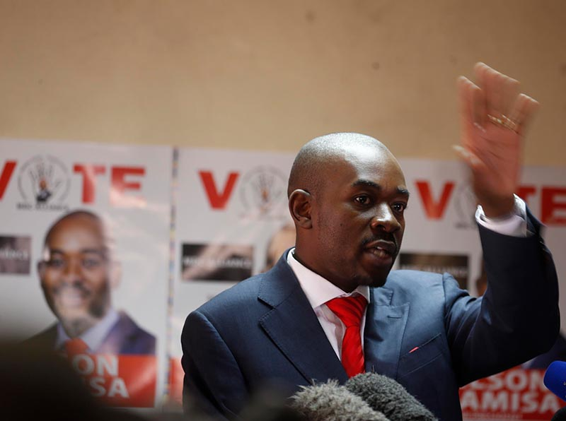 Chamisa wants AU, SADC to take over the running of Zim elections