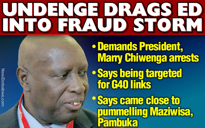 Fraud accused Undenge demands ED arrest, says targeted for being G40