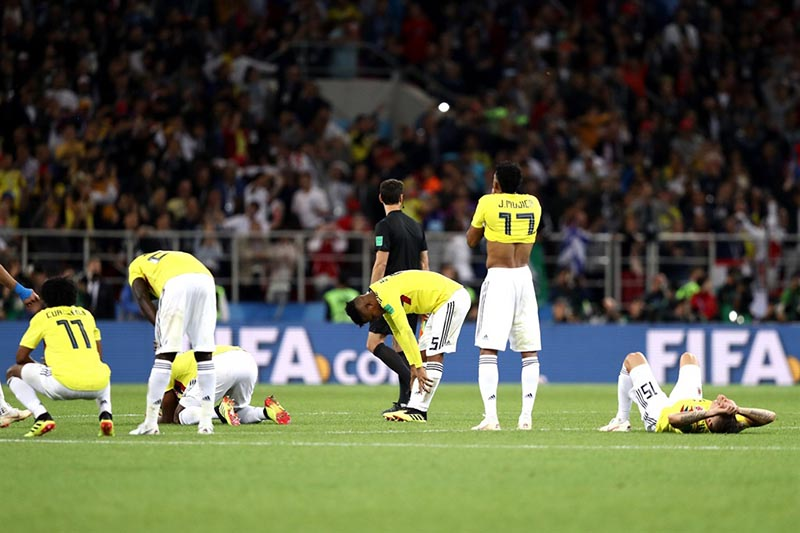 Death fears for Columbia soccer team after World Cup exit