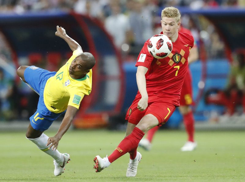Belgium eliminates Brazil from World Cup to reach semifinals