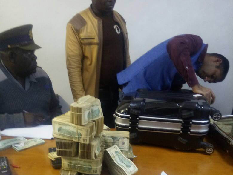 ZRP raid finds US$4m cash and 98kgs of gold at Harare home