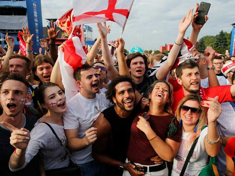 Beers and cheers as England fans go wild over World Cup win