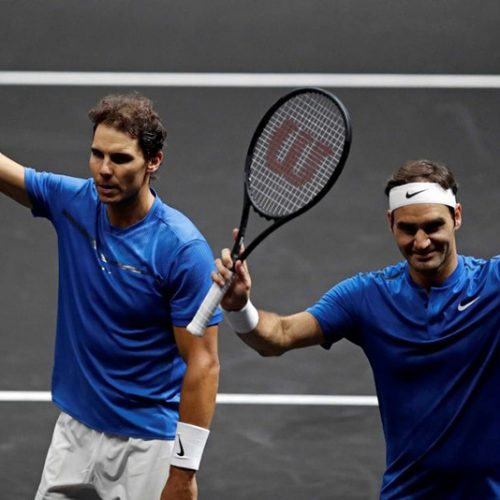 Nadal won't rule out doubles dream team with Federer