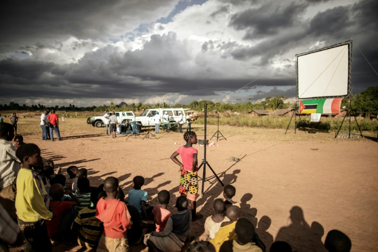 In a far corner of Mozambique, a World Cup under the stars