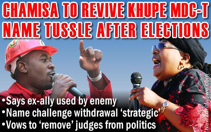 MDC-T name row: Chamisa plots Khupe post-election ambush