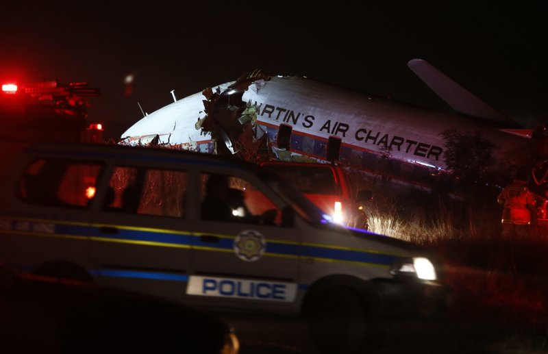 South Africa plane crash: One dead, many injured