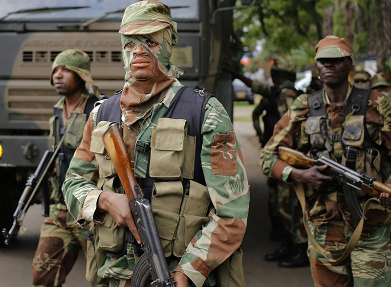 Army deployed in G40 strongholds, ZDI claims