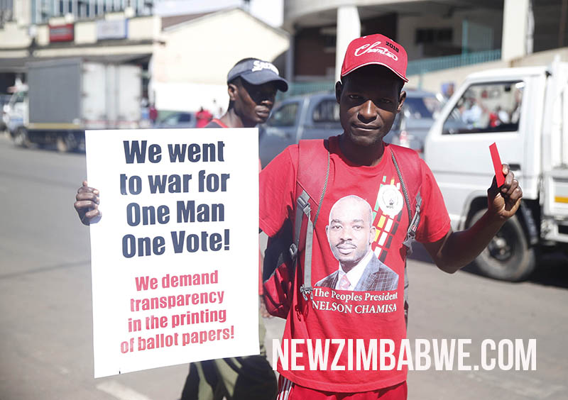 'We're tired of Zanu-PF machinations,' MDC Alliance supporters say