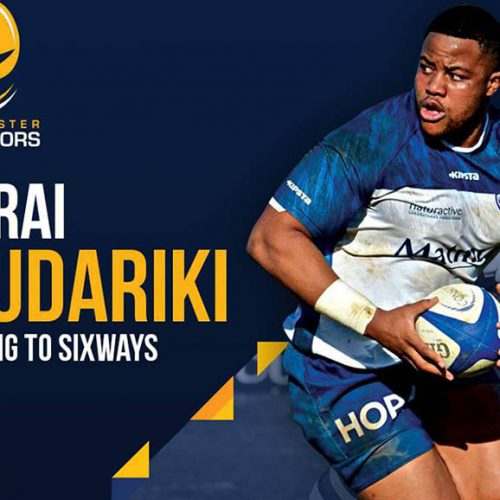 Zimbabwean prop arrives at Worcester Warriors