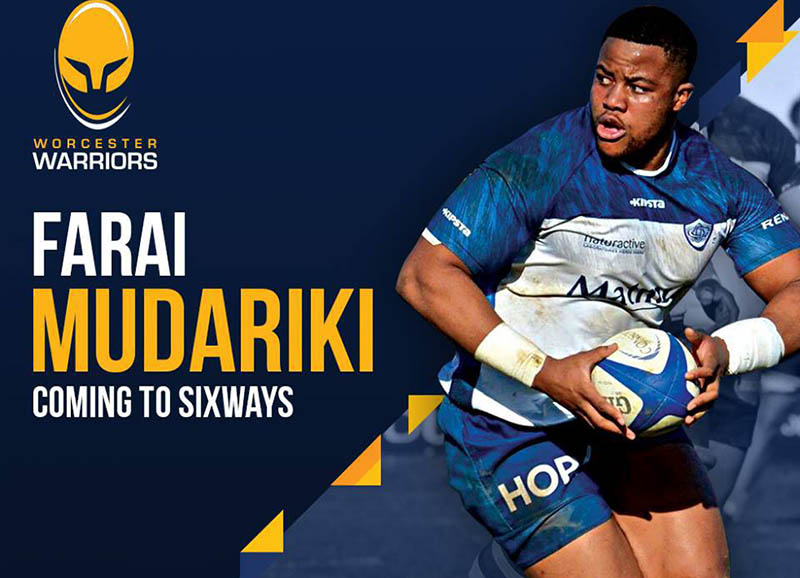 Farai Mudariki: Worcester Warriors' Zimbabwe prop signs new one-year deal