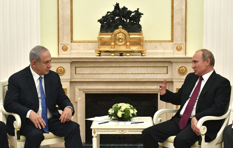 Putin and Netanyahu meet for Syria-focused talks in Moscow