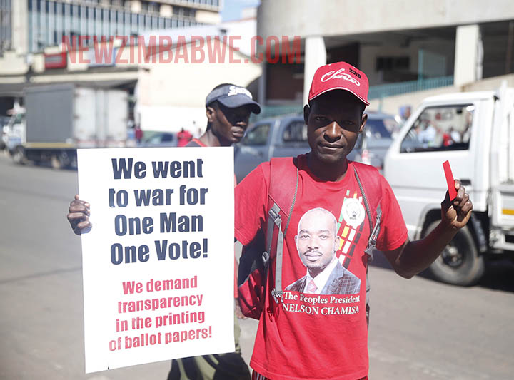 Zimbabwe Opposition Challenges Early Police Voting