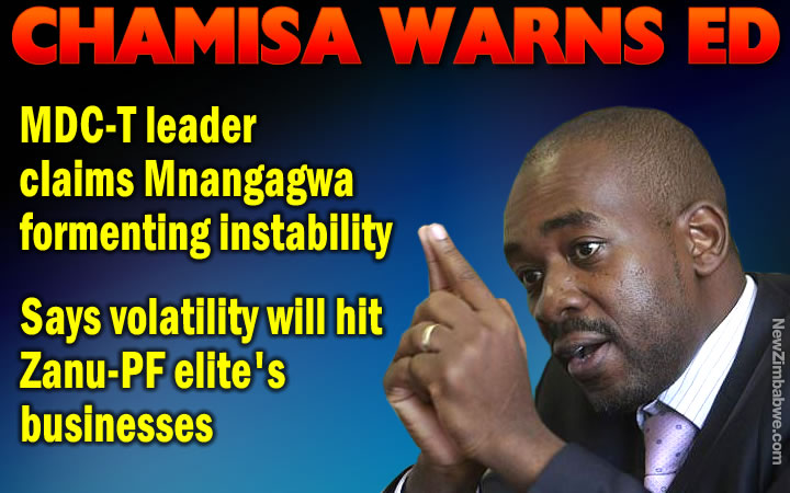 Mnangagwa wants to cause instability in the country – Chamisa