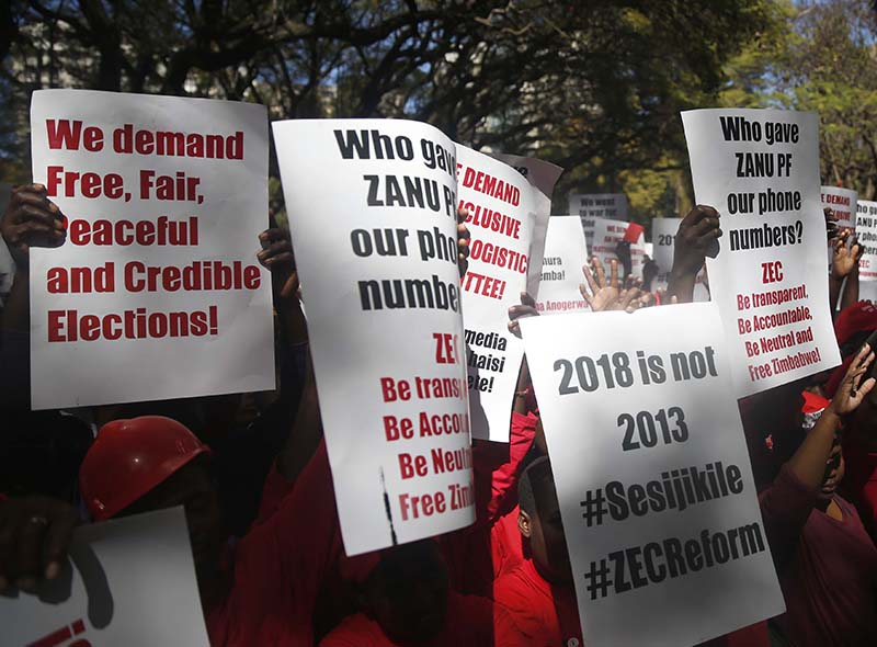 United States: MDC to stage anti-Mnangagwa protests
