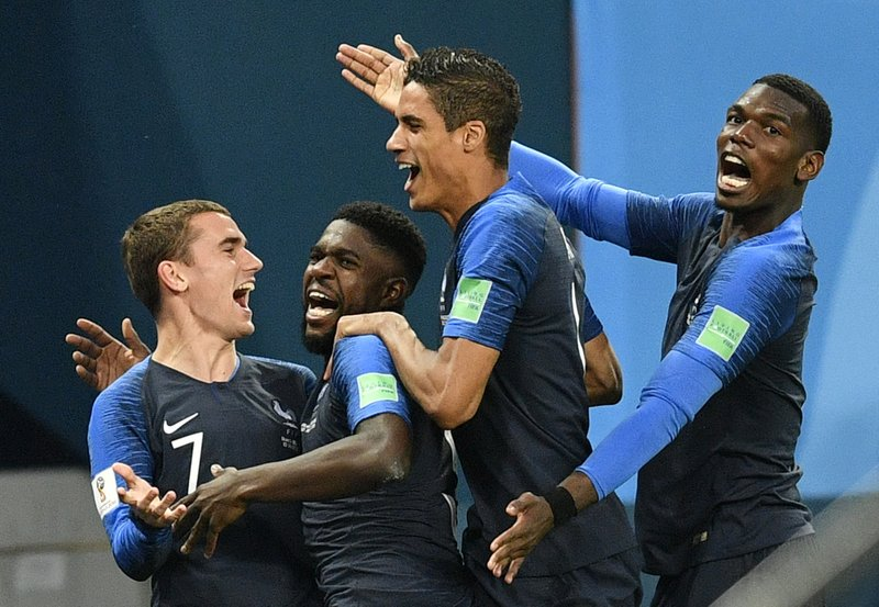 A youthful France faces veteran-laden Croatia for World Cup