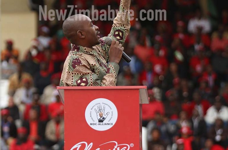 Chamisa campaign juggernaut rolls into Bulawayo but dodges 'bomb haunted' White City