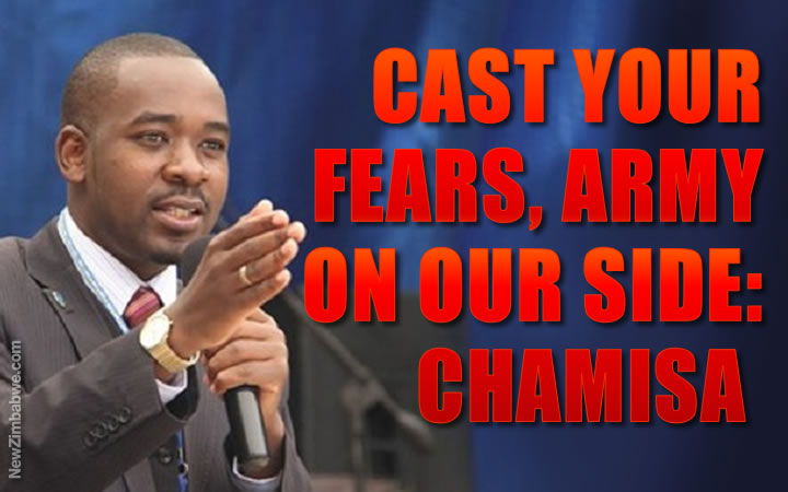 As poll beckons, Chamisa says army on his side