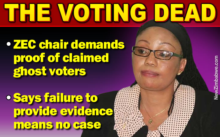 VOTERS roll: Show me the dead and their ghosts – demands ZEC chair