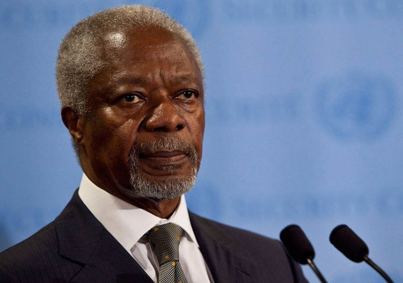 LATEST: Kofi Annan, former UN chief, dies at 80; recently in Zimbabwe ahead of crunch vote