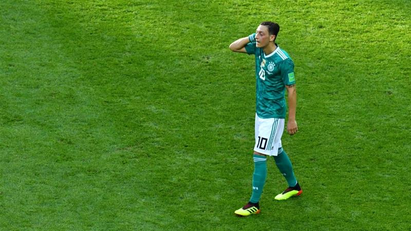 Ozil labeled 'coward' for ditching Germany squad over racism claims