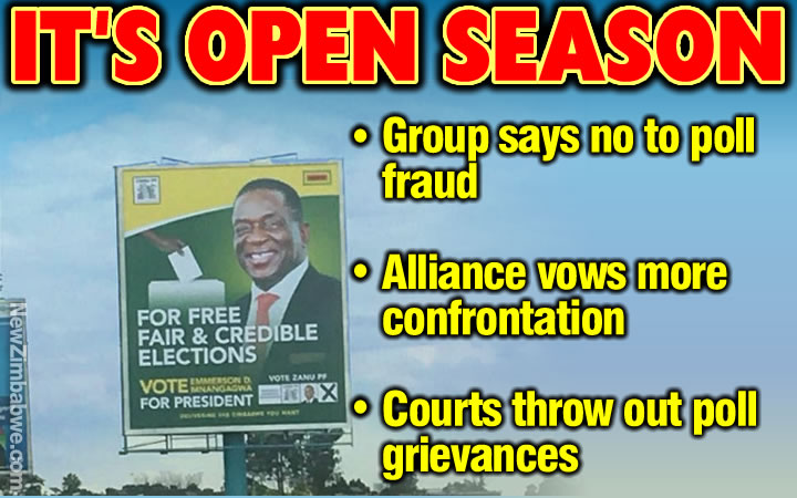 SADC observers say will not endorse sham Zimbabwe election