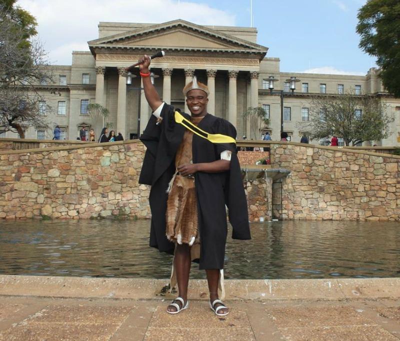 SA: Gay sangoma beats the odds to earn his degree