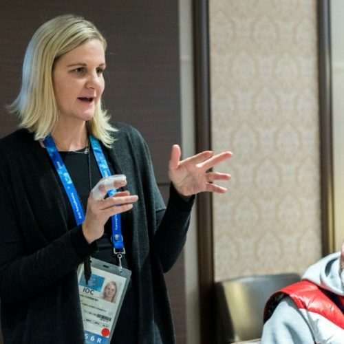 Kirsty Coventry announces her maternity leave