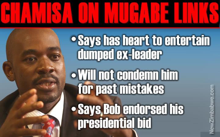 Chamisa says ready to embrace Zanu PF forsaken Mugabe