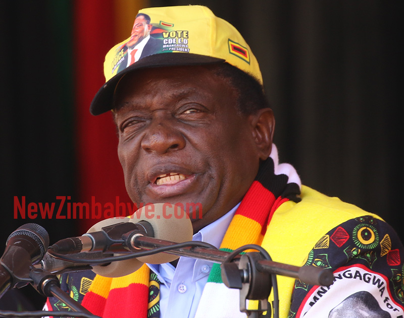 Snubbed Mnangagwa says Mugabe free to express himself