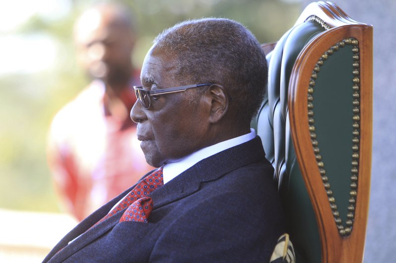 Zvimba villagers mourn their late son Mugabe