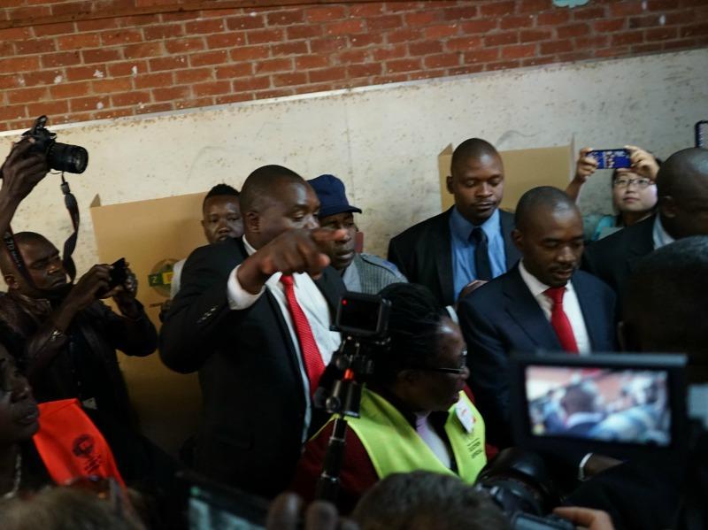 Mnangagwa, Chamisa, Mugabe Vote…More Election Updates