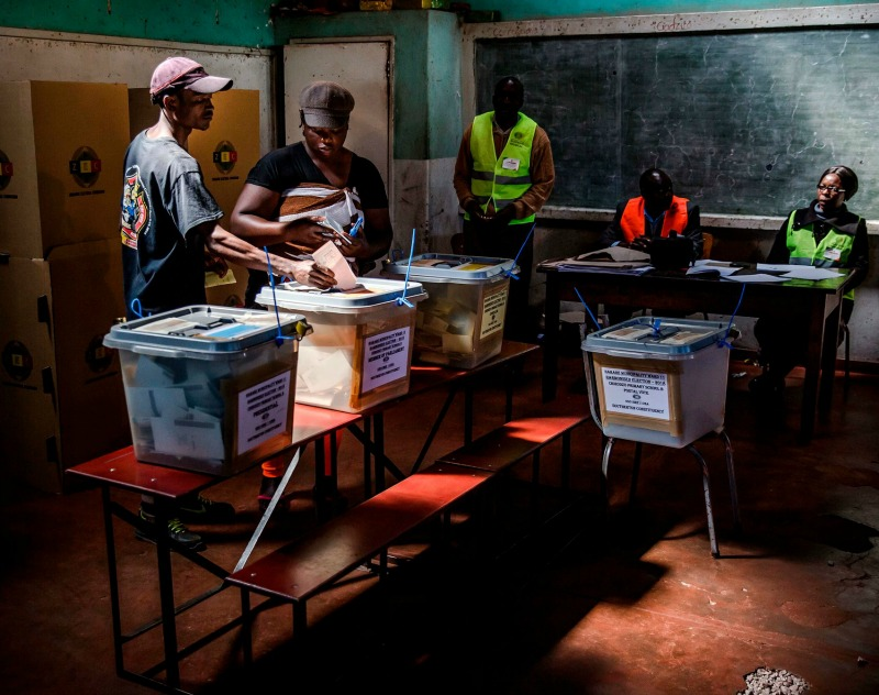 US-based election observers criticise Zimbabwe