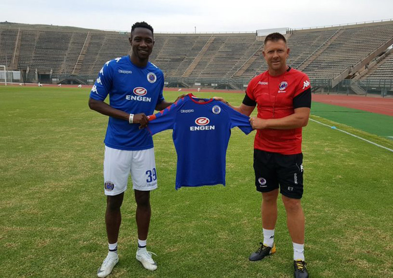SA: SuperSport's Zim striker Evans Rusike raring to go for new season