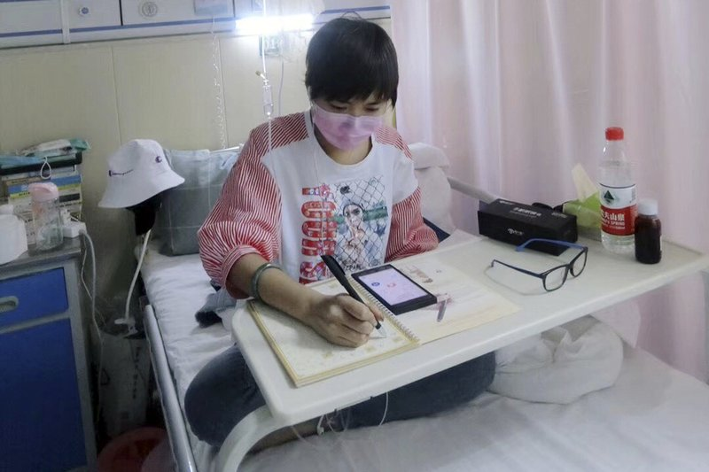 Chinese leukemia patient livestreams to pay for treatment