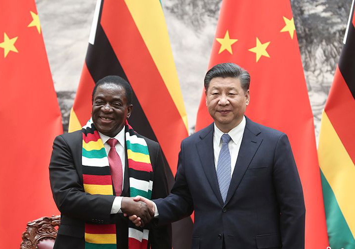 China vows to expand ties with incoming Zimbabwean gov't
