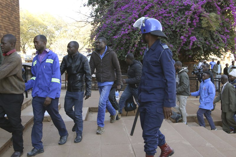 20 MDC Alliance supporters appear in court; party says many in hiding as soldiers on the prawl