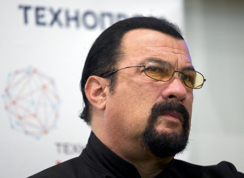 Russia names action-movie star Seagal as envoy for US