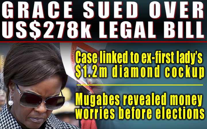 US$1.2m diamond dupe: Grace fails to pay lawyers, sued for $278,000