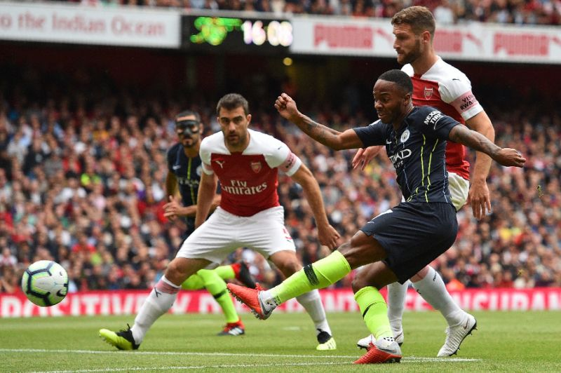 Stylish Man City spoil new Arsenal coach's bow