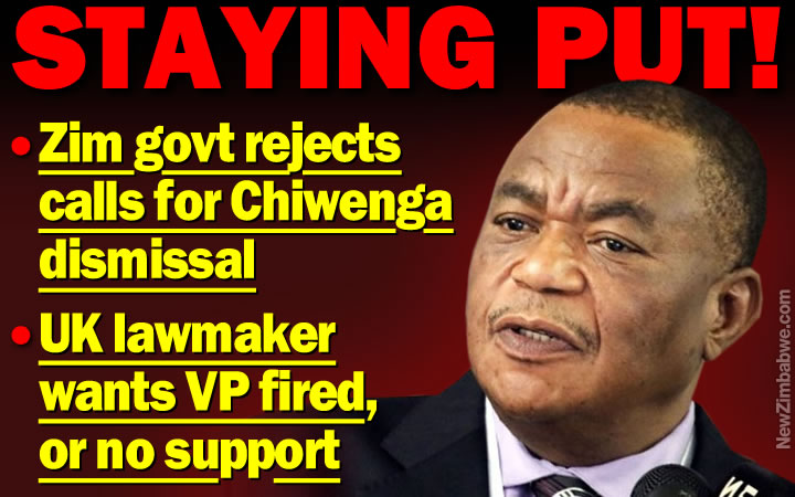 Zim govt rejects UK push for Chiwenga dismissal
