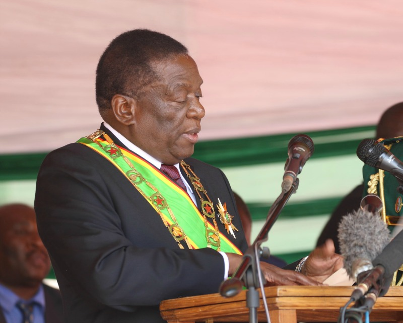 Mnangagwa inaugurated, pledges to be 'President of all', 'radical economic reforms'