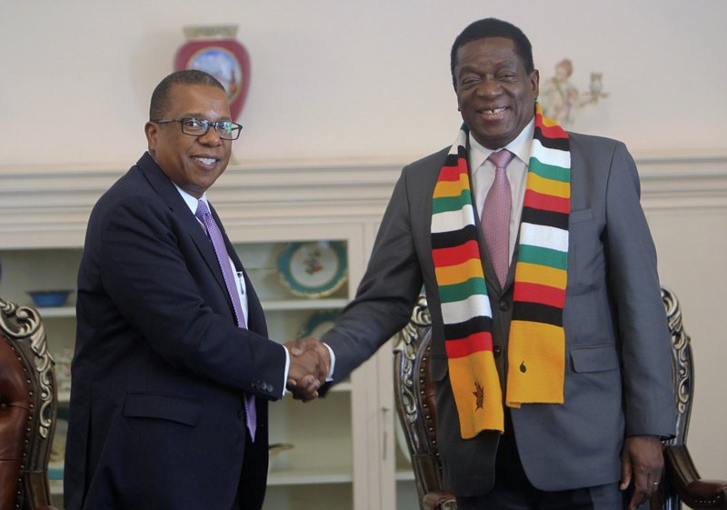 Mnangagwa/US sanctions row continues