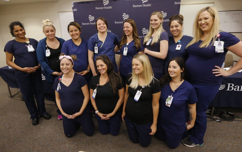 Baby boom at Arizona hospital with 16 pregnant nurses