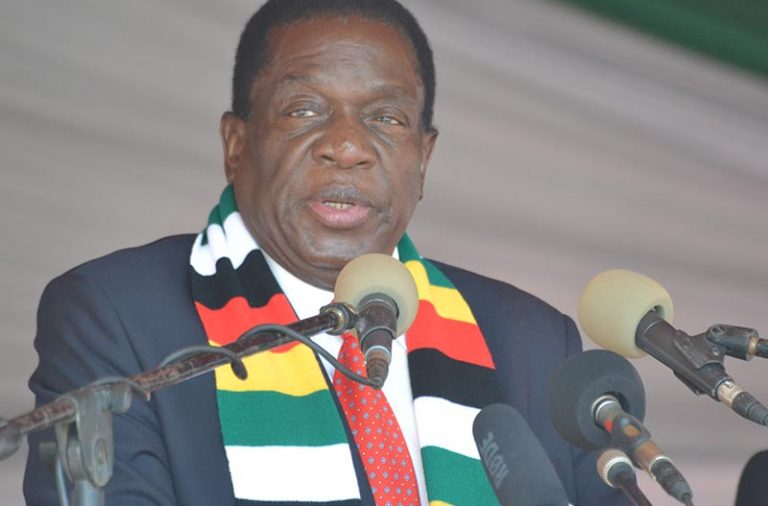 Mnangagwa says 'monumental task' to fix economy