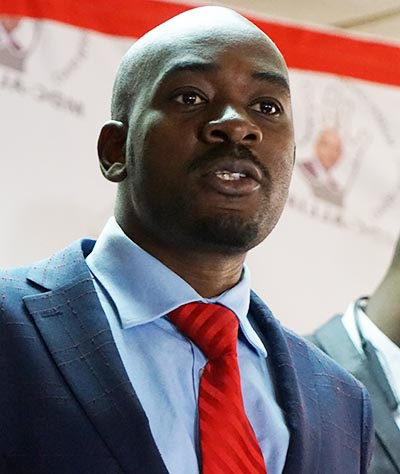MDC-T blasts 'charlatan' war vets' pro-ED gun threats