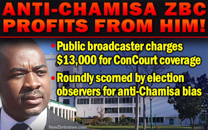 Shock as ZBC demands US$13,000 for ConCourt poll challenge live feed