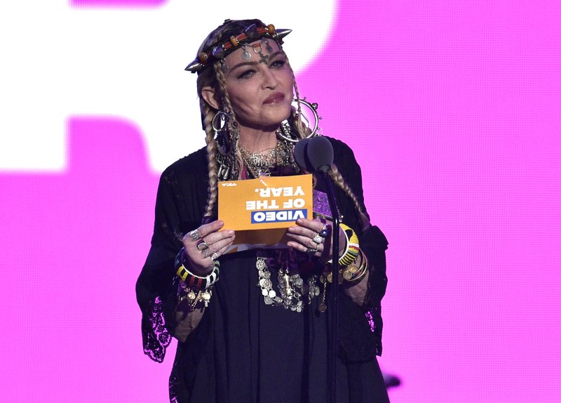 Madonna's rambling Aretha Franklin tribute earns backlash